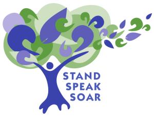 Stand Speak Soar logo